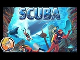 Scuba game overview at SPIEL 2016 by designer Martin Looij