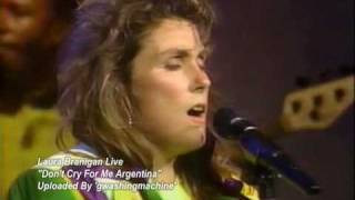 Laura Branigan Dont Cry For Me Argentina Live, 1990 *RARE*