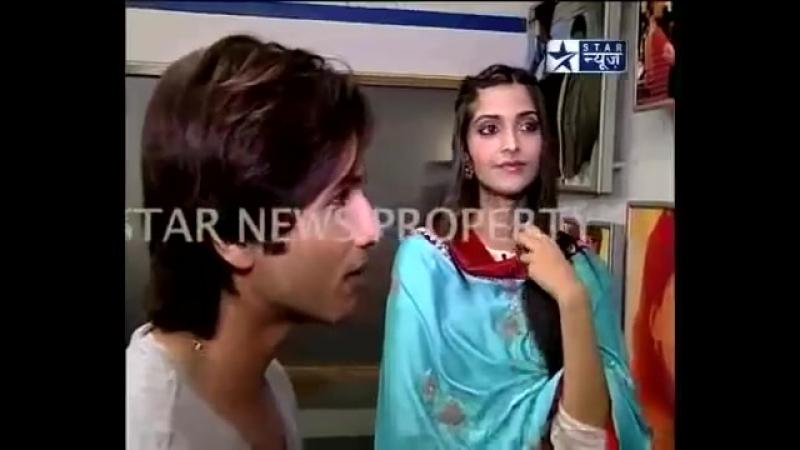 Shahid Kapoor Sonam Kapoor interview on Star News promoting Mausam Part-1