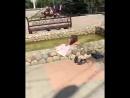 Нудистка облюбовала фонтан в центре Михайловска