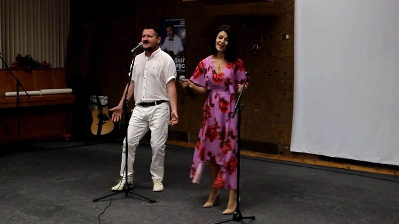 Дуэт Олег Андрис, Адель Искиндирова, Гимн проекта Наши в эфире