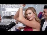 Karlie Kloss, Naomi Campbell  for Swarovski Holiday 2017 ad campaign