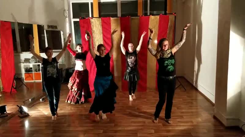 BlackSheepBellydance Format. Tribal Universe Festival 2018 After-party