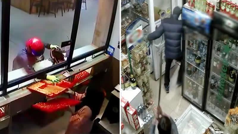 Покорность или швабра как ведут себя продавцы при ограблении