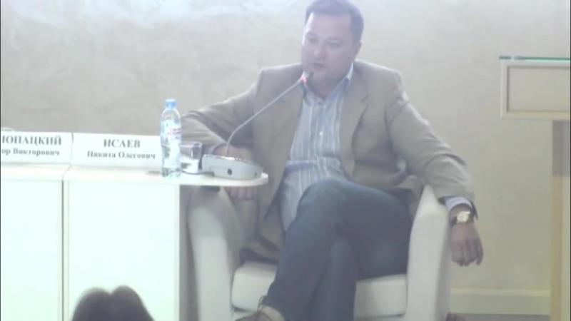 Никита Исаев в Общественной палате РФ. ЗАЛ ЗАМЕР ОТ ШОКА!