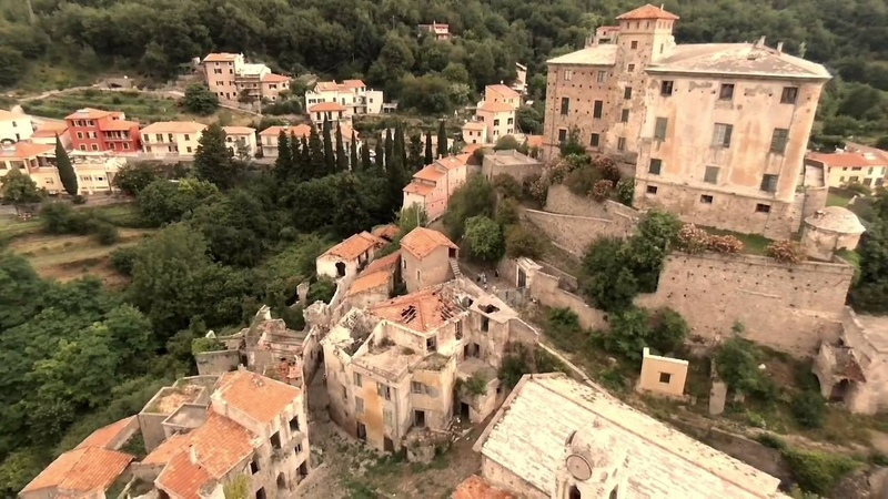Balestrino, Italy, lost place (EW)