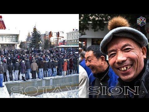 Омск вышел против КИТАЙСКОГО ГОРОДКА! Митинг. Трансляция