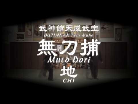 Bujinkan Muto Dori 2018 DVD Chi