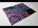 Mandala Flowers Doodle Mixed Media Art LoveSpringArt