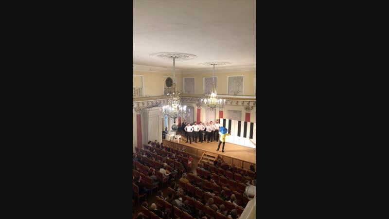 Мужской хор Вологодской филармонии Премьера мюзикла Незнайка в стране невыученных уроков