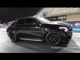 Mercedes-AMG GLE63s RS800 PP Performance - BIG FLAMES  1_4 Mile Drag!