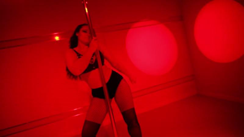 STRIP DANCE - Black Doll