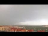 Очень крутое видео грозовых облаков