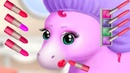 Pony Sisters Hair Salon 2 Games for Girls Play Fun Animals Cutest Pony Makeup Princess Dress Up