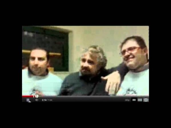 Beppe Grillo e le scie chimiche