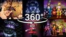 360°| Best FNAF 360 Show Compilation!! - Five Nights at Freddy's [SFM] (VR Compatible) Part 1