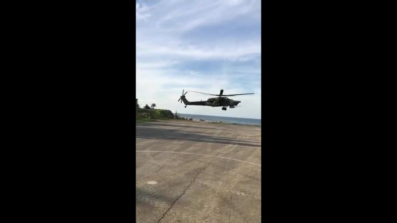 Ми-28Н в Сирии