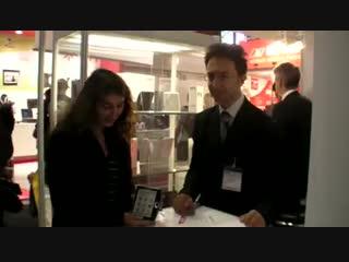 Pocketbook 360 и Pocketbook 302 на выставке IFA 2009 в Берлине