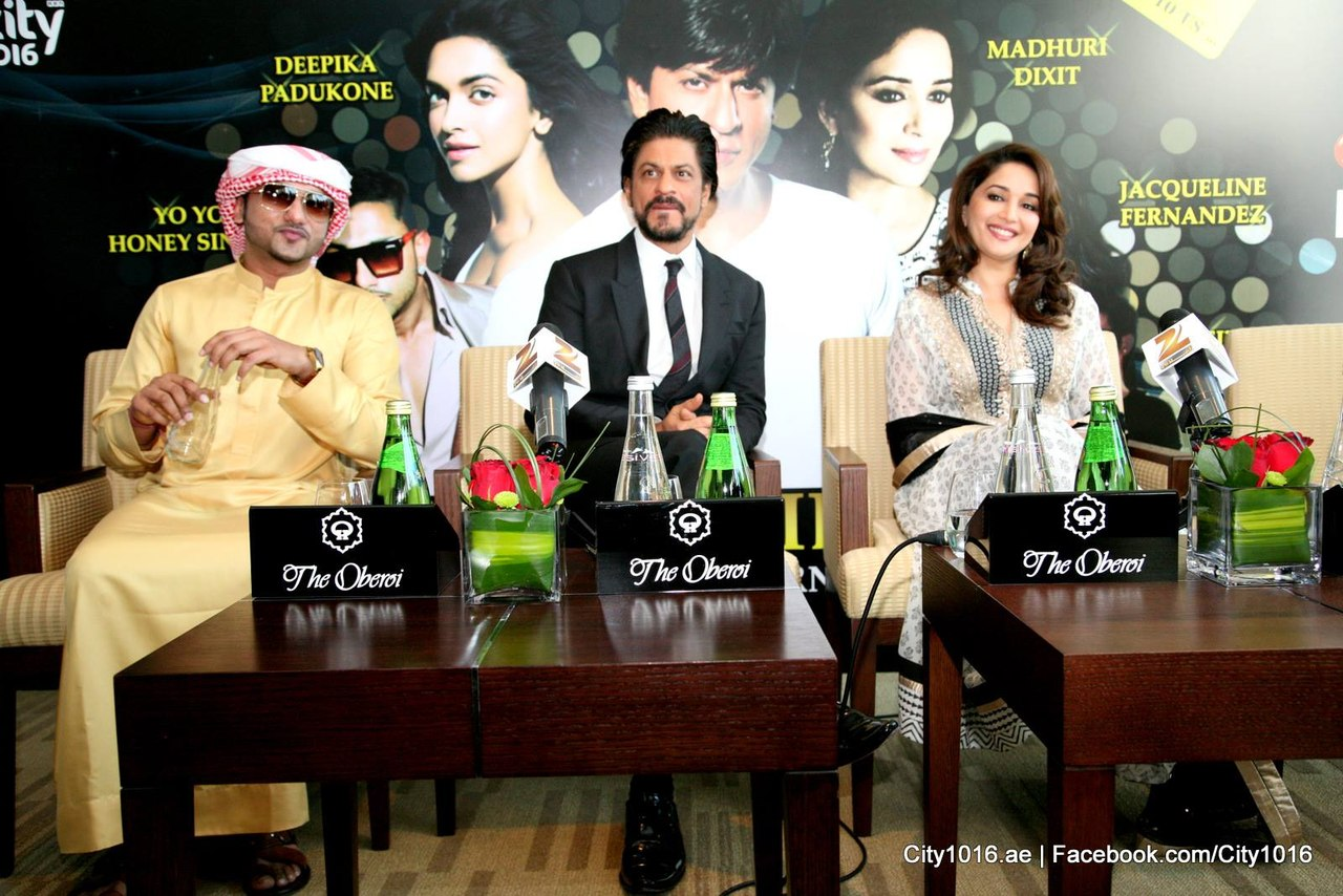 kn5Deq6IDgc - Shah Rukh Khan and Madhuri congratulate Dubai on Expo 2020 win