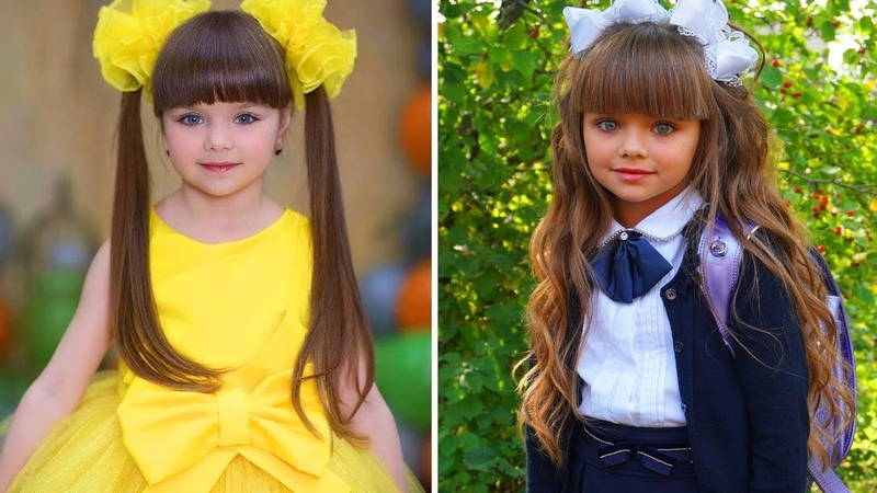 Школа замерла в восхищении: самая красивая девочка в мире пошла в первый класс! Настя Князева!