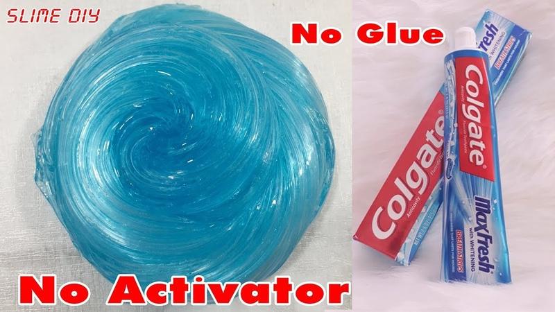 DIY Toothpaste Fluffy Slime!! No Shaving Cream, No Glue, No Borax! MUST WATCH!   Part 1