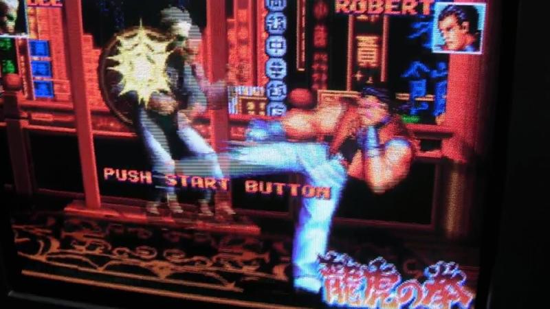Neo Geo AES Double-Strike Pron 240p (SCART RGB)