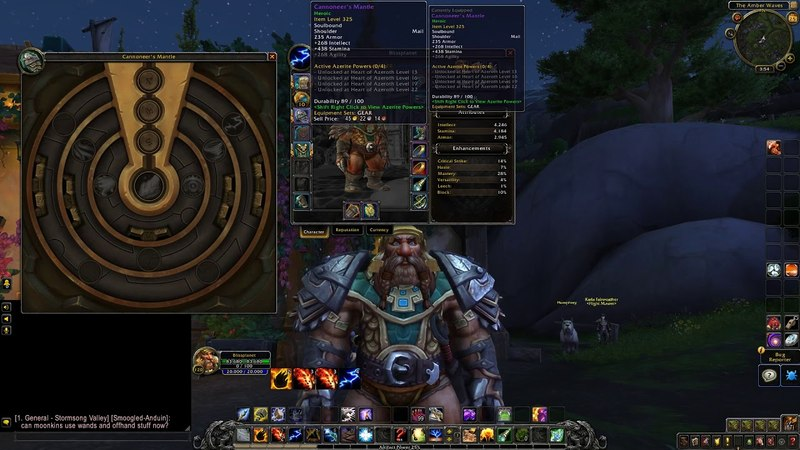 Heart of Azeroth (4-Ring Traits)