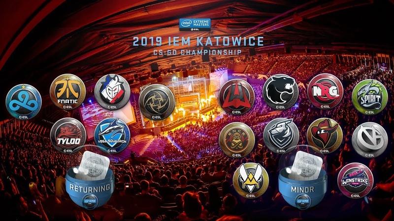 Autograph capsule opening IEM Katowice 2019