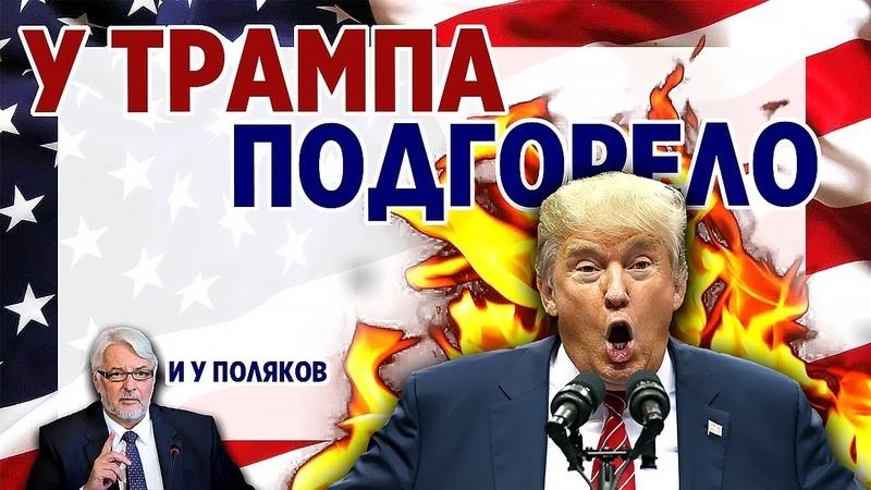 У Дональда Трампа подгорело. Шатдаун и выход из НАТО. Поляки нервничают.