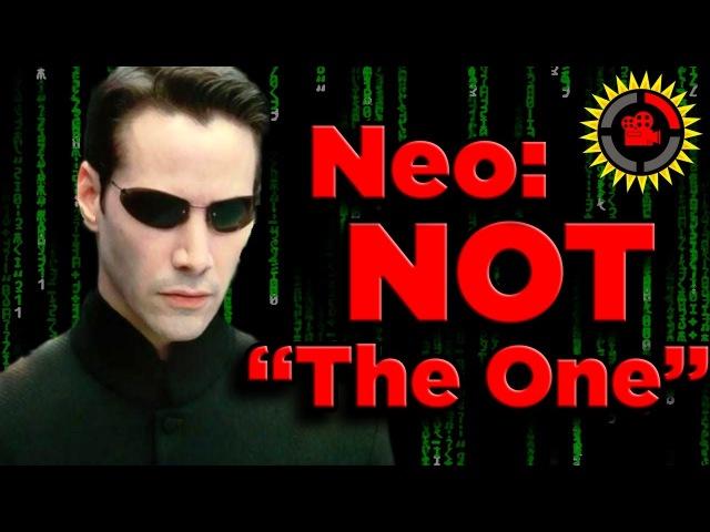 Кинотеории: Нео не является избранным в трилогии