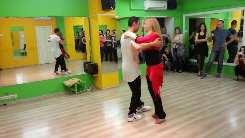 Кизомба с Анной Мельниковой, школа танца Essentia Dance