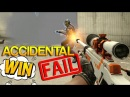 CS:GO - Accidental WIN / FAIL