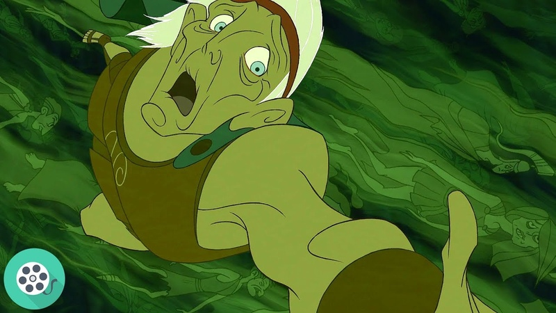 Геркулес спасает Мег и становится Богом. Геркулес (1997) год.