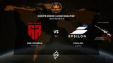 RED RESERVE vs EPSILON - Europe Minor Closed Qualifier - BO3 - by s8rix
