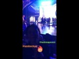 22 сентября Селена и Бекки Джи на концерте Дженнифер Лопес Лас-Вегас, Невада.