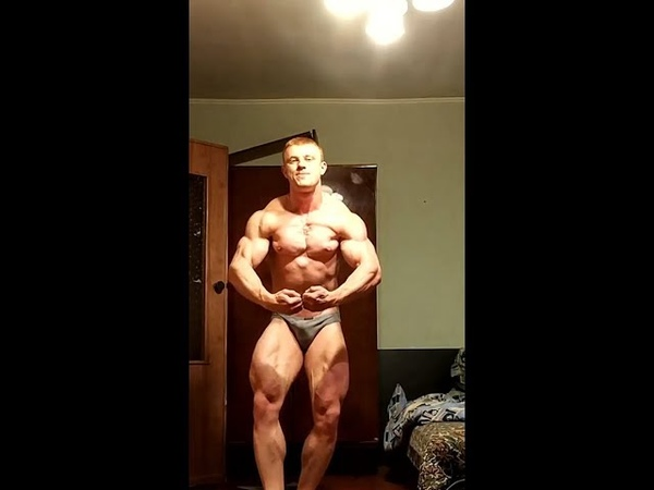 Mad Jack Posing Ripped Contest Shape Physique!