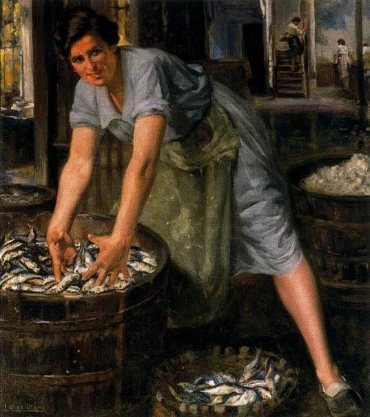 Игнасио Диас Олано  испанский/баскский художник