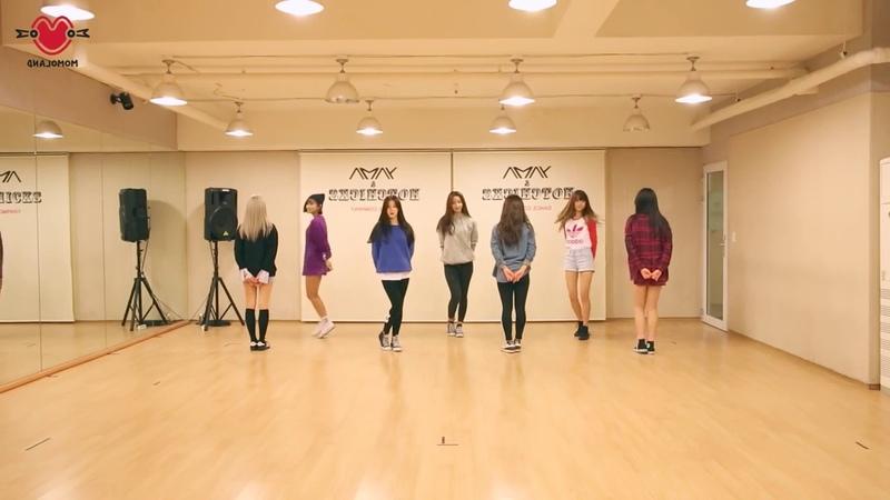 MOMOLAND JJan! Koong! Kwang! Mirrored Dance Practice, 모모랜드 짠쿵쾅 안무 거울모드