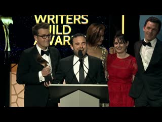 The writers of Castle Rock take home the 2019 Writers Guild Award for Original Long Form