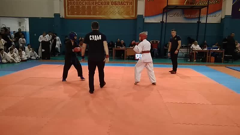 Крашенинников Артем 1 бой