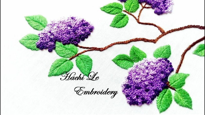 Hand Embroidery Tutorial for Beginners| French Knots | Cách thêu cơ bản: hướng dẫn thêu sa hạt