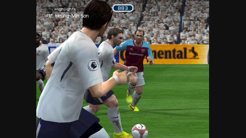EPL 8 тур Tottenham Hotspur West Ham United 4 2