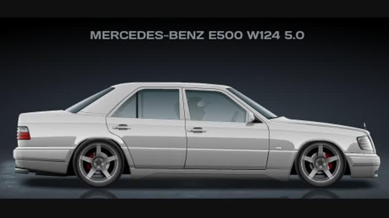 Mercedes-Benz E500 W124 5.0 (7,363)