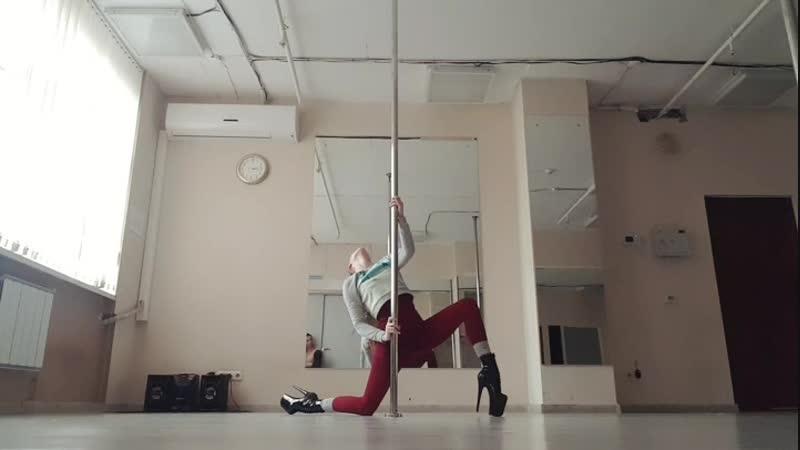 Exotic Pole Dance Лиза Багадяж
