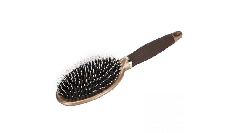 Boar Bristle Paddle Hair Brush   Detangling Brush for Straightening