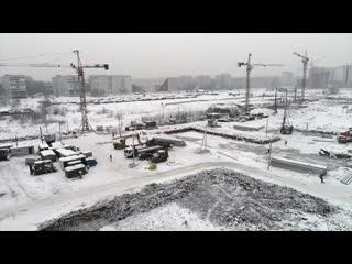 Строительство Кемеровского Президентского кадетского училища