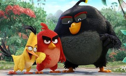 Герои знаменитой игры «Angry birds» появятся на большом экране