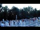 Поющий фонтан, парк Горького в Казани.