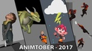 Animtober2017 - Wes Brewer