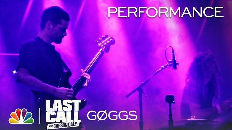 GØGGS Pre Strike Sweep Last Call with Carson Daly Musical Performance